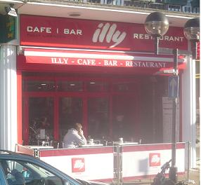 Illy cafe and Restaurant